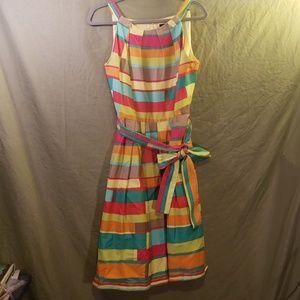 Multi Color Chetta B Dress in size 12